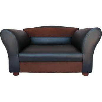 Fantasy Furniture Mini Dog Sofa Black