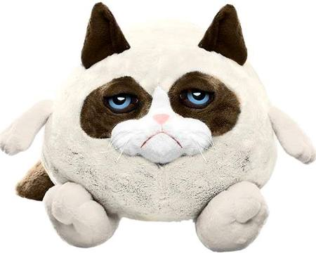 Grumpy Cat Ganz 10 Inch Ball Plush Grumpy