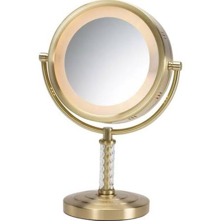 Jerdon Dual Sided Halo Lighted Vanity