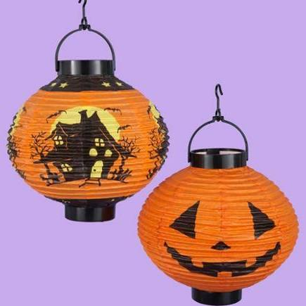KSA Pack of 6 LED Battery Operated Halloween