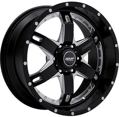 BMF Wheels- R.E.P.R. Death Metal Black
