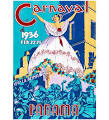The Art Stop Travel Carnival Fiesta <b>Panama City</b> Vintage AD Print ...