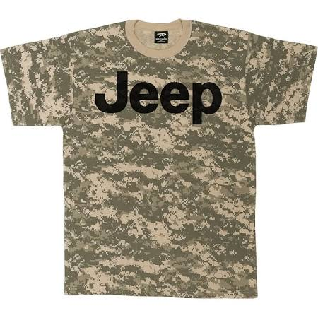 Jeep Army Digital Camo T-Shirt