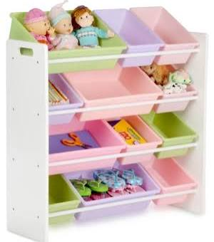 Honey Can Do SRT-01603 Kids Storage Organizer-