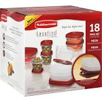 <b>Rubbermaid Easy Find Lids</b> Container and <b>Lid</b> - 18 Piece Set