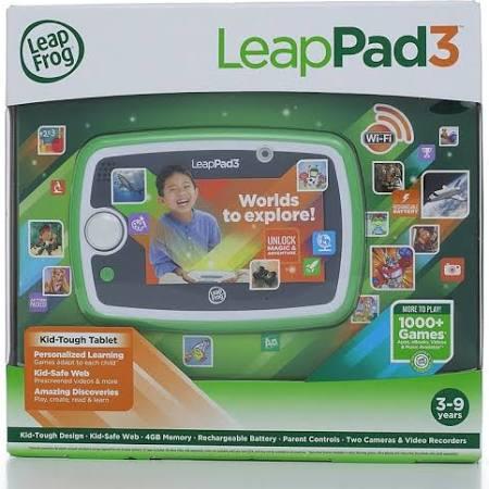 LeapFrog LeapPad3 Learning Tablet Green