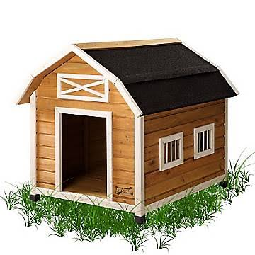 Pet Squeak The Barn Raised Wooden Dog