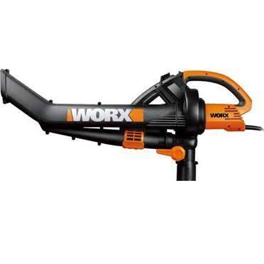 Worx TriVac Blower-Mulcher-Vacuum w/Metal