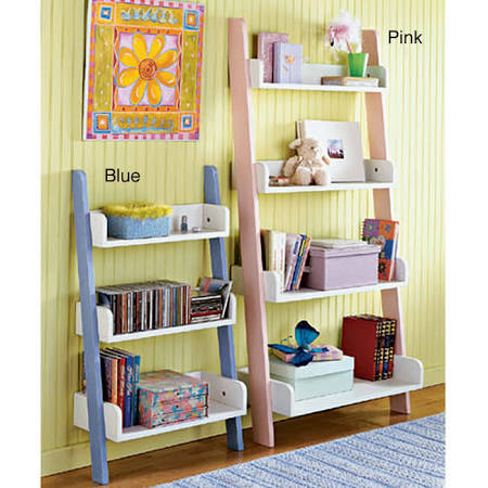 Simple Living Kids' Four-Tier Shelf (Antique