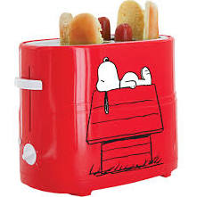 Peanuts HDT-1S Snoopy Hot Dog Toaster