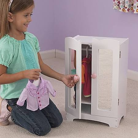 KidCraft Doll Armoire - Dollhouses