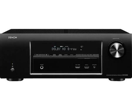 Denon AVR E400 AV network receiver - Black