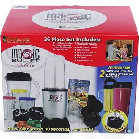 Magic Bullet Deluxe 26-Piece Blender Set