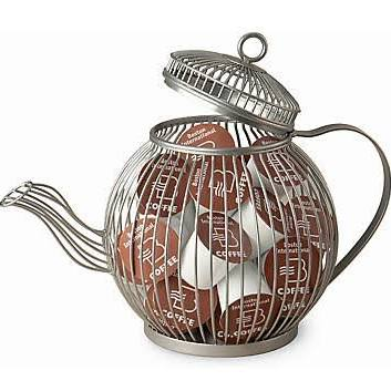 October Hill Wire Teapot K-Cup Pod Holder