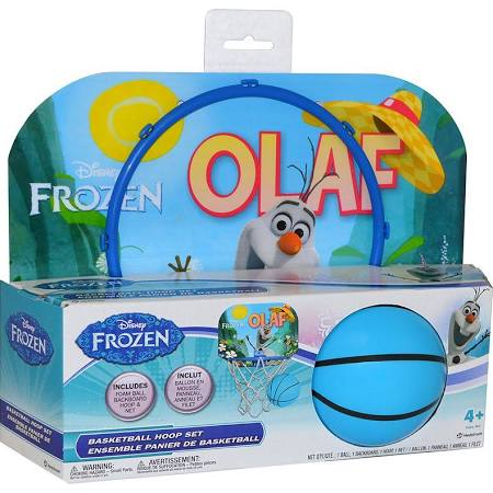 Disney Frozen Olaf Basketball Hoop Set