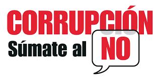 CORRUPCIÓN. Súmate al NO.