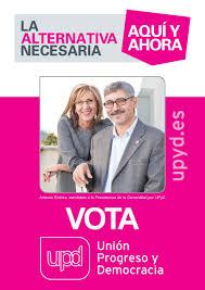 Cartel electoral de UPyD