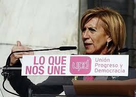Rosa Díez, diputada nacional y portavoz de UPyD
