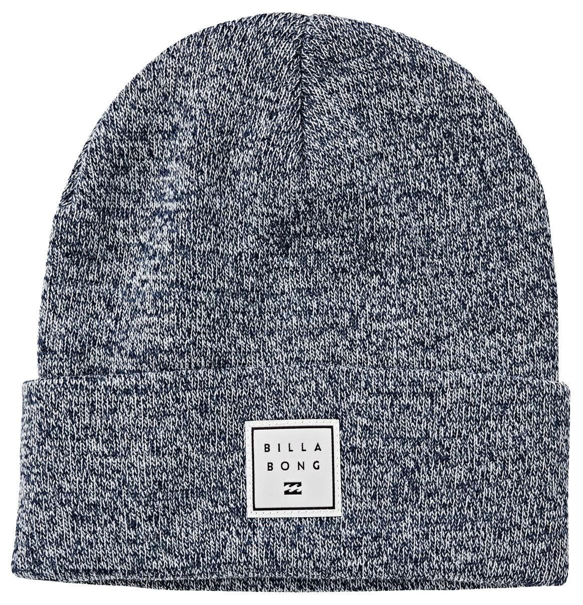 Billabong Stacked Heather Beanie - Dark Blue