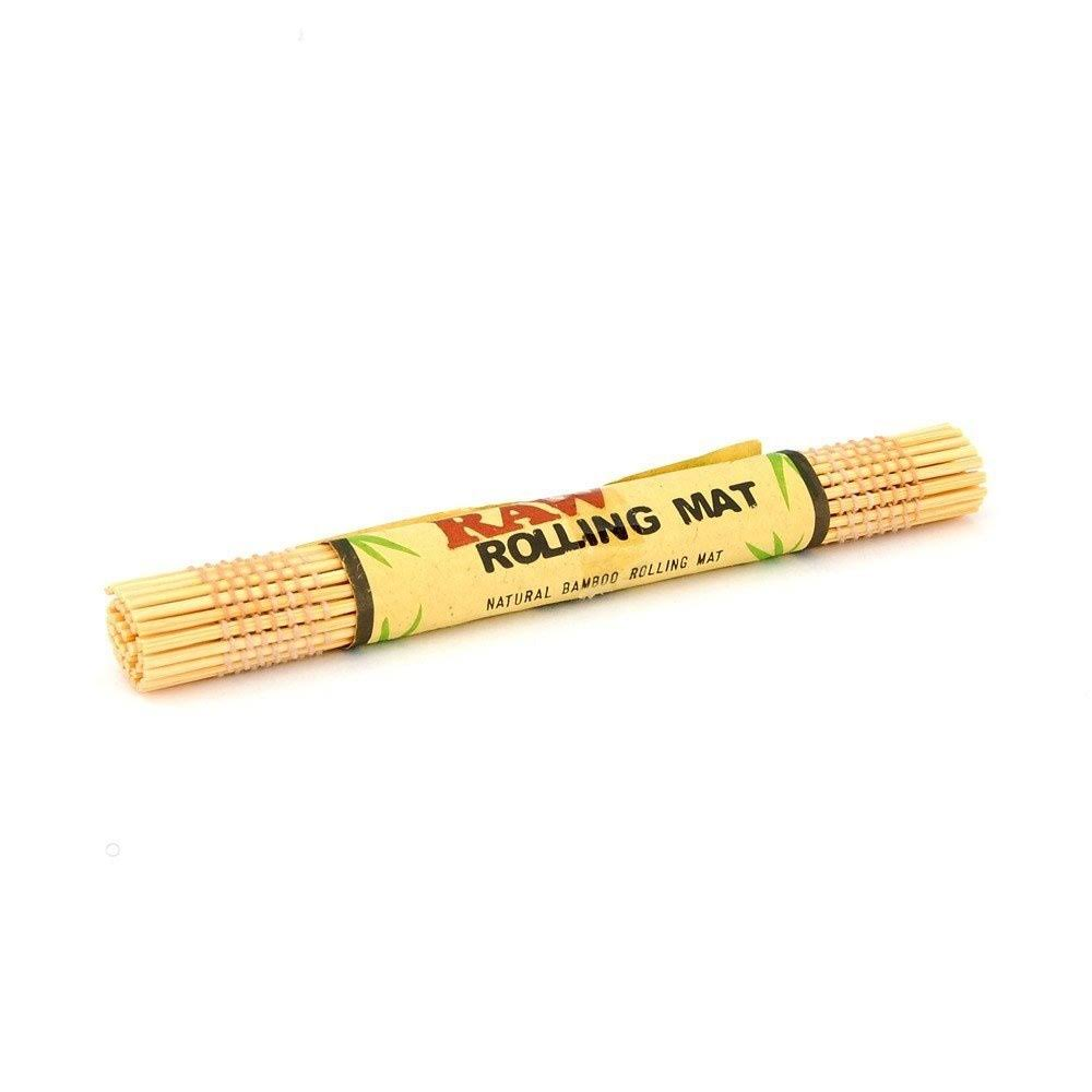 Raw Natural Bamboo Rolling Mat