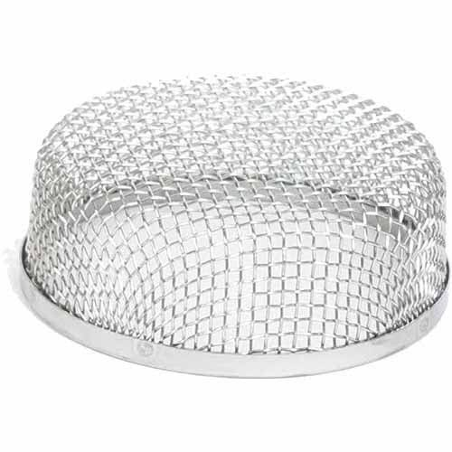 "Camco 42144 Flying Insect Screen - Silver, 3-5/8""dia x 1-5/16"""