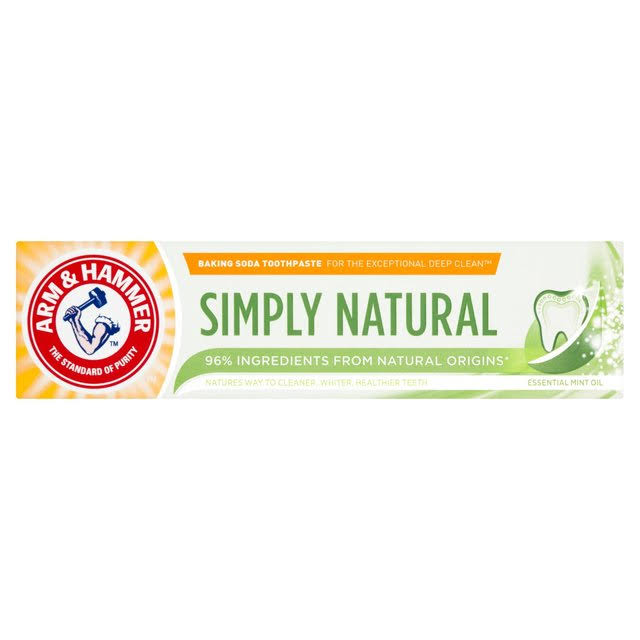 Arm & Hammer Simply Natural Toothpaste 75ml