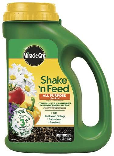Miracle-Gro Shake N' Feed All-Purpose Dry Plant Food