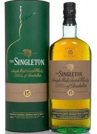 Singleton of Glendullan 15 Year Old Single Malt Scotch 750ml