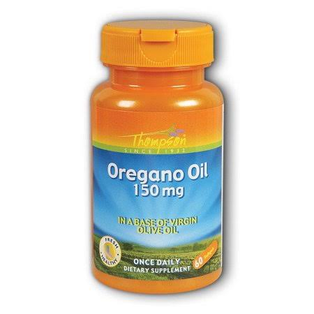 Thompson Oregano Oil Dietary Supplement - 150mg, 60ct