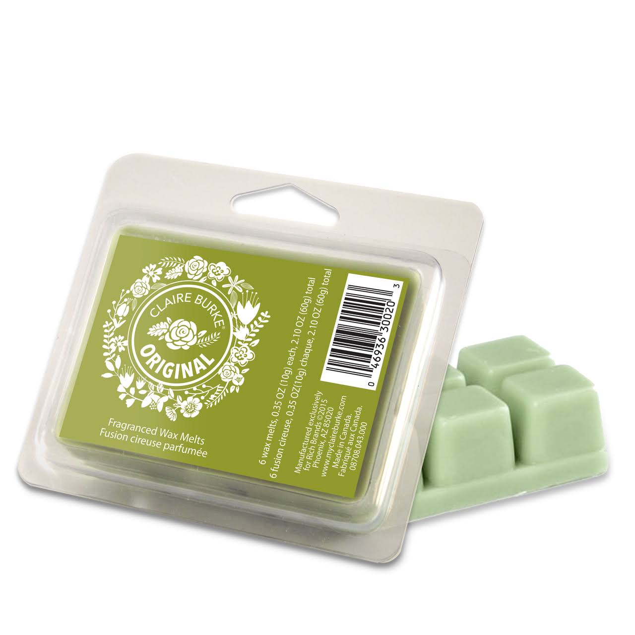 Claire Burke Wax Melts - Original, 2.1oz
