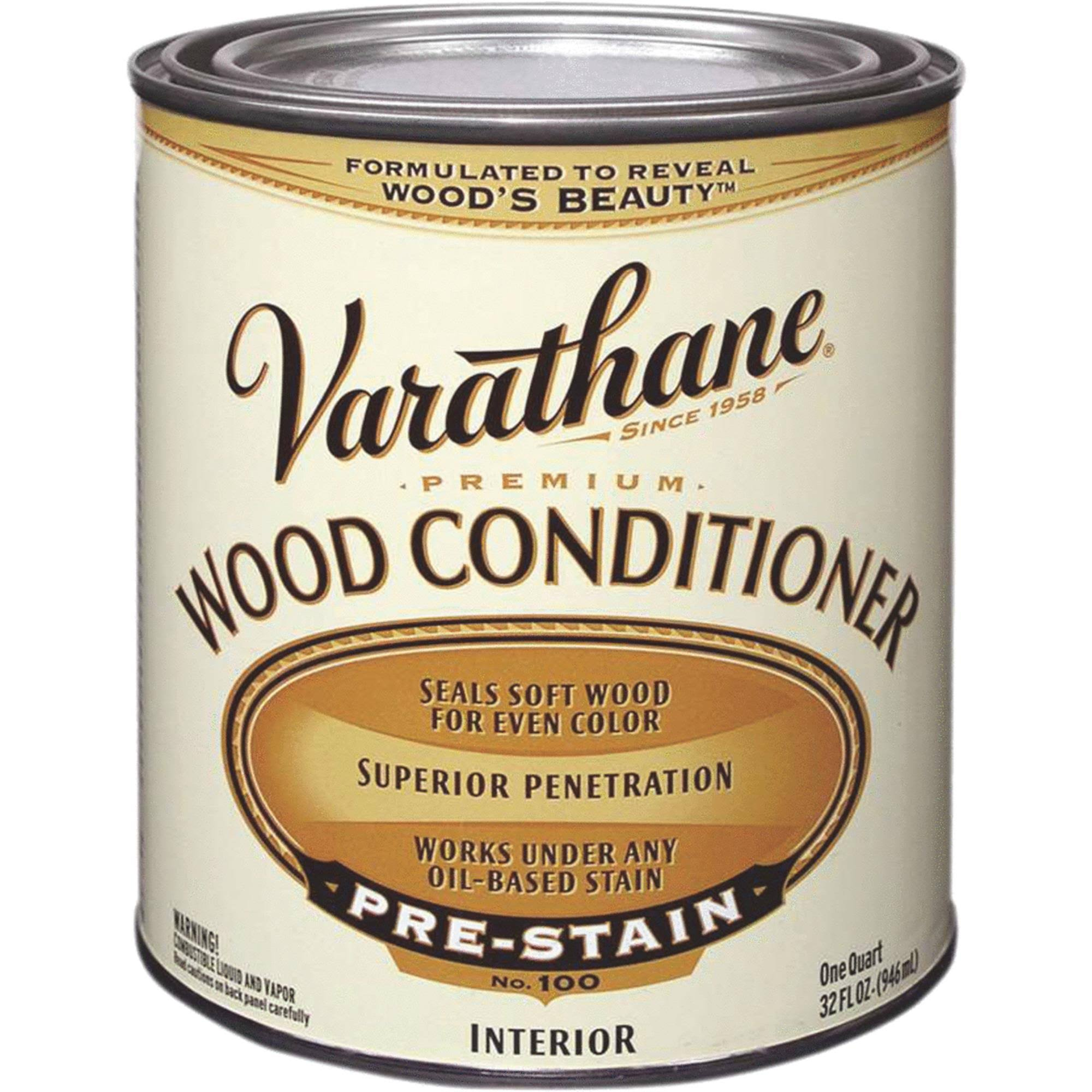 Varathane 211775 Premium Wood Conditioner - 1qt