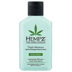 Hempz Triple Moisture Herbal Whipped Body Creme - 2.25 Oz