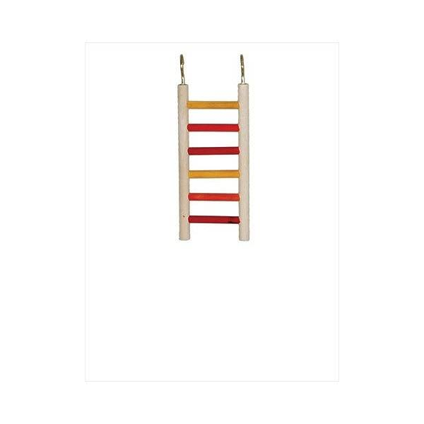 "Caitec Bird Toy Parakeet Ladder - 3"" x 8"""