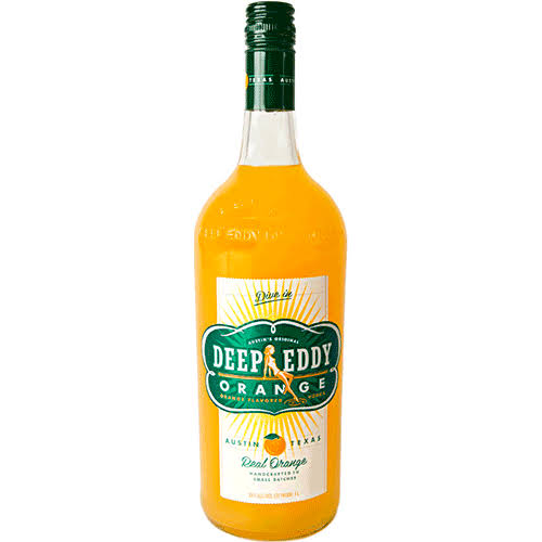 Deep Eddy Vodka, Orange - 750 ml