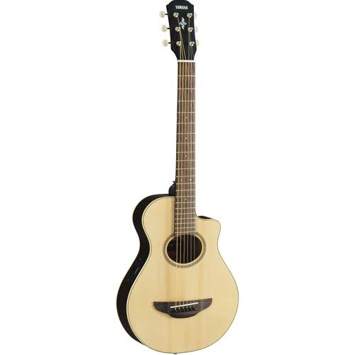 Yamaha Travel Acoustic Electric Guitar - Natural, 3/4 Size