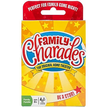 OUTSET Media Family Charades Card Game - in Tin