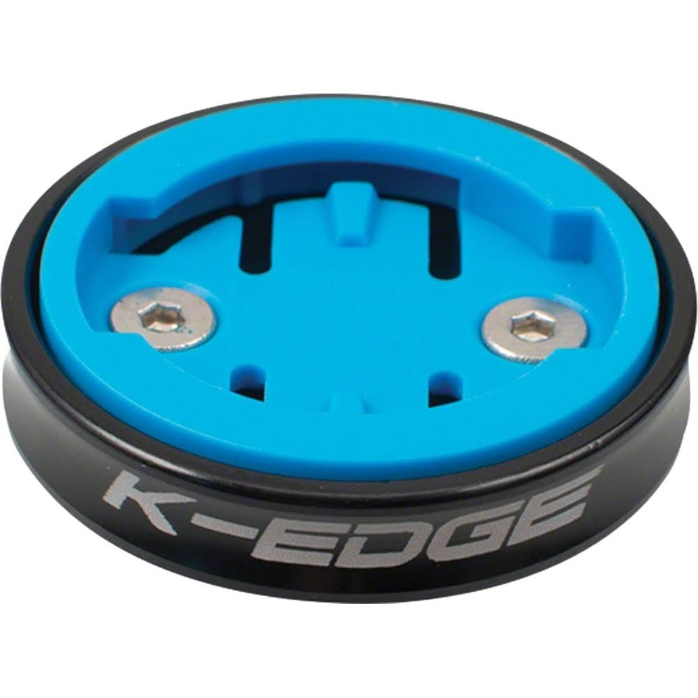 K-Edge Gravity Cap Computer Mount for Wahoo - Black, One Size