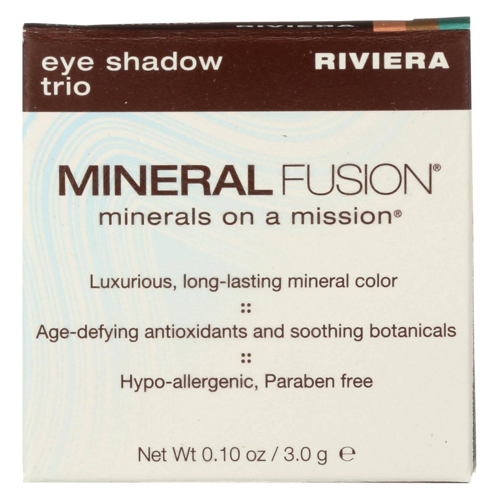 Mineral Fusion Eye Shadow Trio - Riviera, 0.1 oz