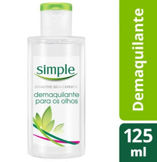 Simple Eye Make Up Remover - 125ml