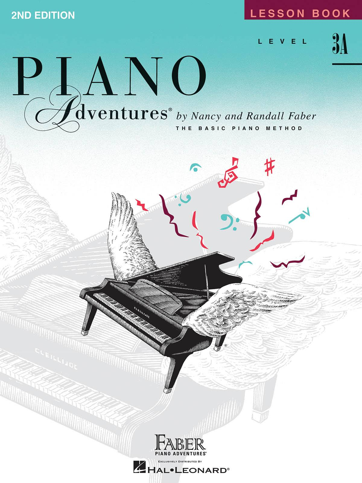 Piano Adventures Lesson Book: Level 3A - Nancy & Randall Faber