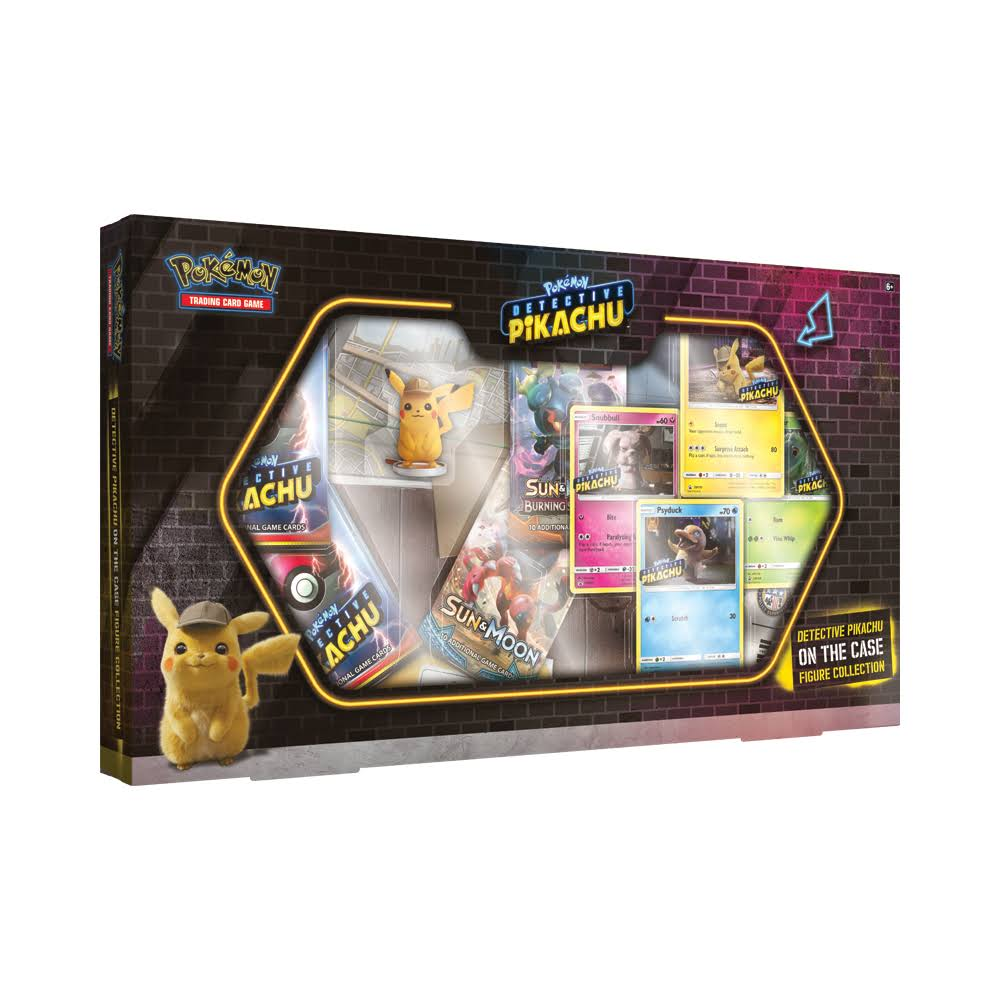 Pokemon Detective Pikachu On the Case Action Figure Collection Box
