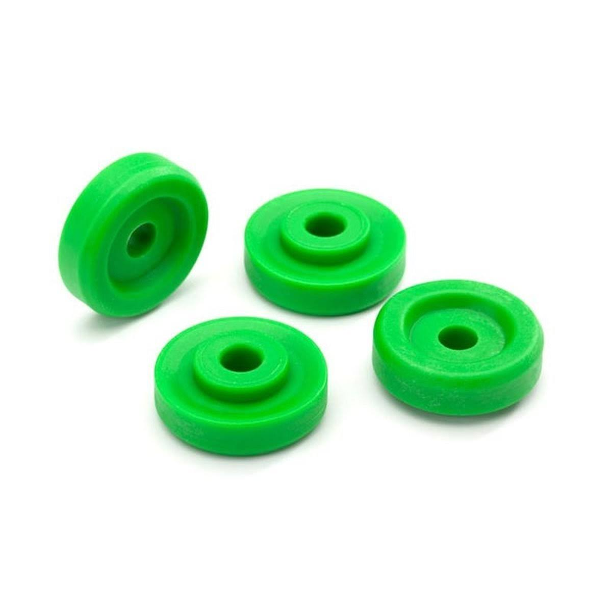 Traxxas Wheel Washers Green (4) TRA8957G