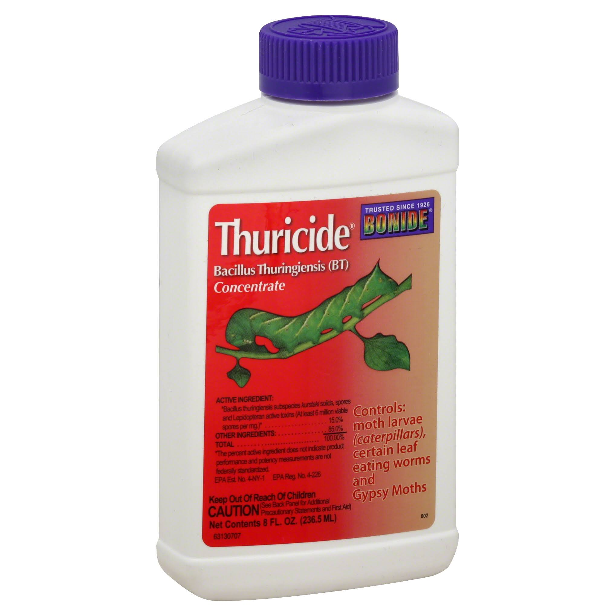 Bonide Chemical 802 Bacillus Thuricide Liquid - 8oz