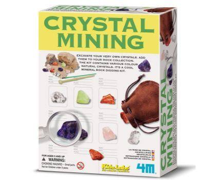 4M Craft Kidz Labs Crystal Mining Educational Toy
