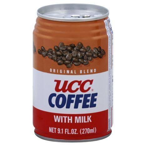 UCC Coffee, with Milk, Original Blend - 9.1 fl oz