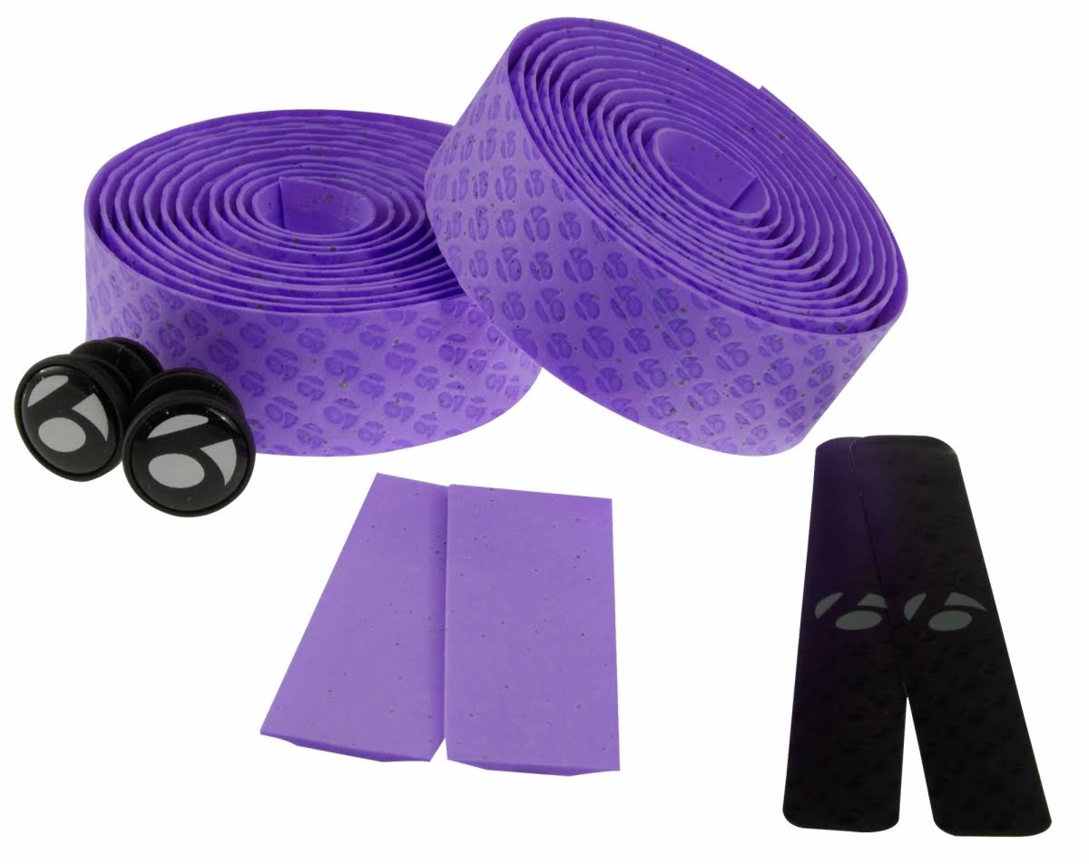Bontrager Gel Cork Bar Tape Purple