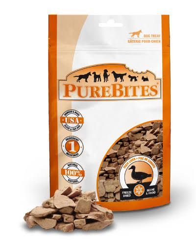 Pure Bites Freeze Dried Duck Dog Treats - 1.23oz