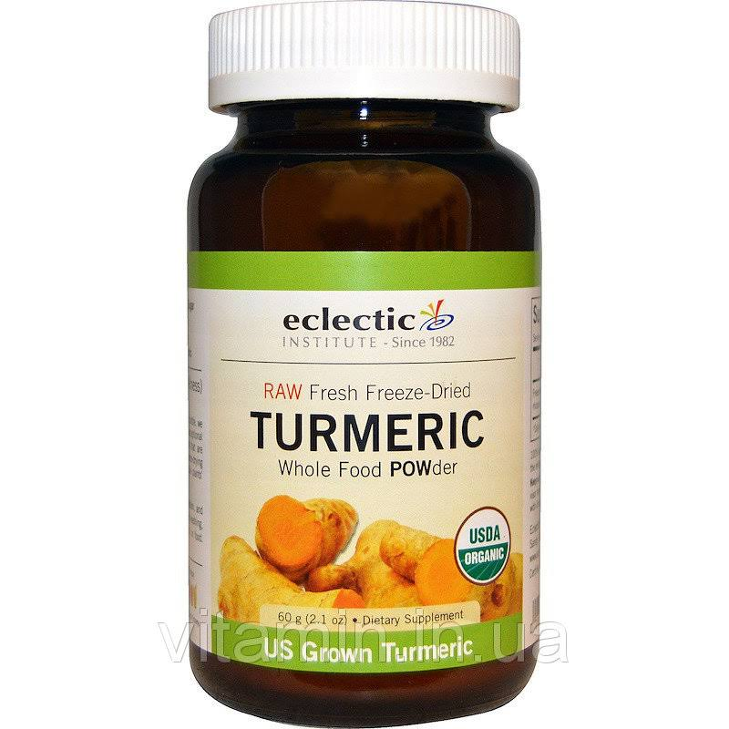 Eclectic Institute Turmeric Powder Dietary Supplement - 60g