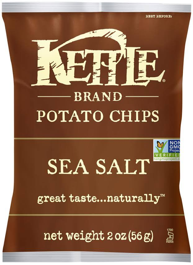 Kettle Brand Potato Chips - Sea Salt