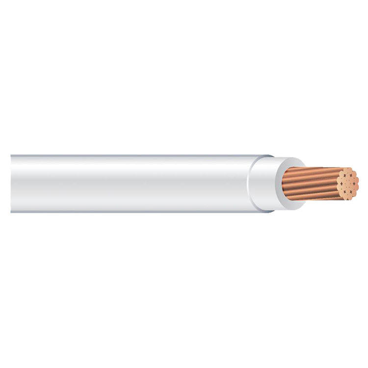Southwire Company Stranded THHN Wire - White, 50', 12 Gauge